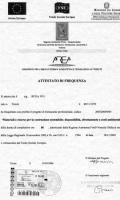 attestato_costruzioni_materiali_sostenibili_2005