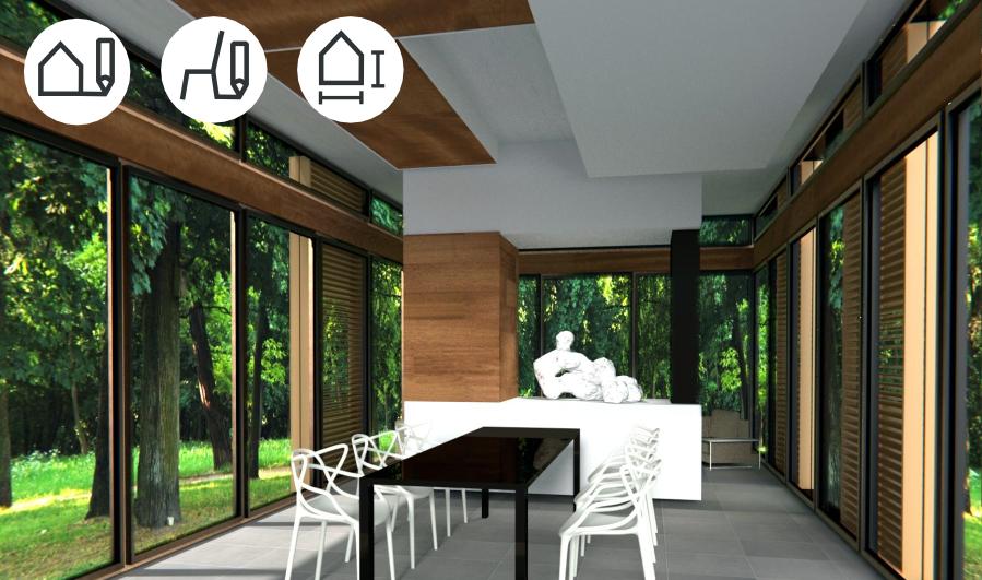 Progettazione Di Interni On Line : Ivo buda architetto architettura d interni online